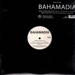Bahamadia - Biggest part of me / Paper thin - 12''
