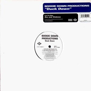 Boogie Down Productions - Duck Down / Like a throttle / We in here - 12''