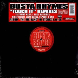 Busta Rhymes - Touch it remixes - 12''