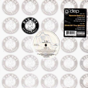 G-Dep - Special delivery / Child of the ghetto - 12''