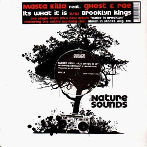 Masta Killa - It's what it is / Brooklyn kings - 12''