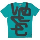 WESC T-shirt - Overlay Biggest - Teal