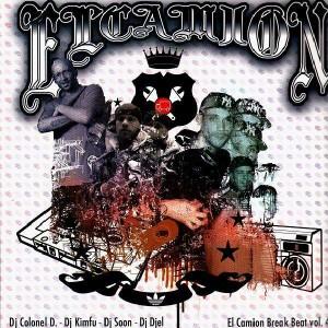 El Camion Break Beat volume 4 (Colonel Douchafleur, DJ Kimfu, DJ Soon, DJ Djel) - LP