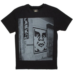 OBEY T-shirt - Obey New York Photo - Black
