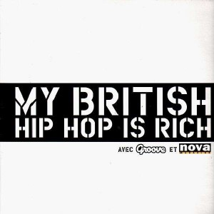 My British Hip-Hop Is Rich - Various artists - Promo vinyl EP
