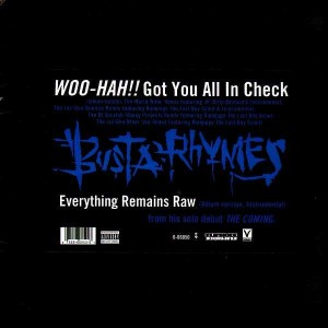 Busta Rhymes - Woo-hah!! Got you all in check / Everything remains raw - 12''