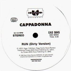 Cappadonna - Run - promo 12''