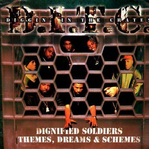 D.I.T.C. - Dignified soldiers / Themes, Dreams & Schemes - 12''