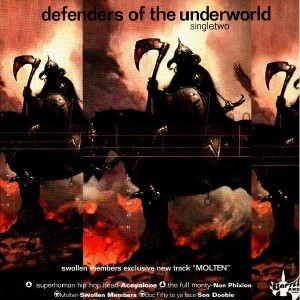 Battle Axe records - Defenders of the underworld single 2 - 12''