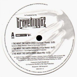 Gravediggaz - The night the earth cried - 12''