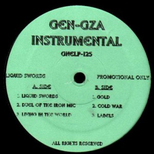 GZA / Genius - Liquid swords instrumentals - 2LP