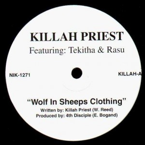 Killah Priest - Wolf in sheeps clothing - 12''