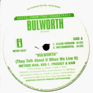 Method Man, KRS-One, Prodigy, Kam - Bullworth - 12''