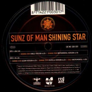 Sunz of Man - Shining star - 12''