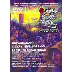 Battle Of The Year - France 2003 - DVD