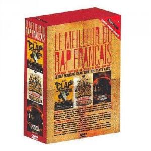 Le meilleur du rap francais - Box set (Rap Attack / Le cercle de la haine / Clap vol.1) - 3DVD