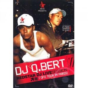 Q-Bert - Redstar DJ Live session (QFO tour in Paris) - DVD