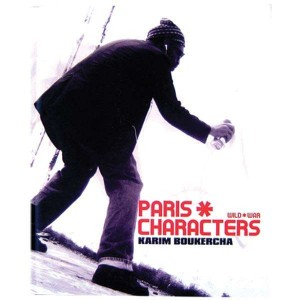 Paris Characters -  by Karim Boukercha - Book