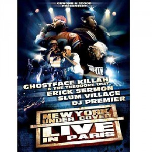 New York Under Cover - Live In Paris - Ghostface Killah - DVD