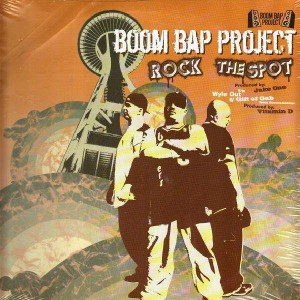 Boom Bap Project - Rock the spot / Wyle out  - 12''