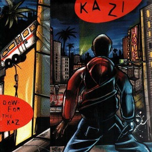 Kazi - Down for the kaz - LP