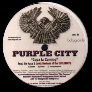 Purple City - Cops iz coming - 12''