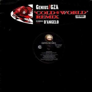 GZA / Genius - Cold world remix - 12''