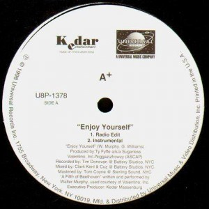 A+ - Enjoy yourself - promo 12''