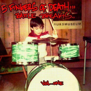 DJ Paul Nice - 5 Fingers Of Death... Battle Breaks - Volume 1 - LP