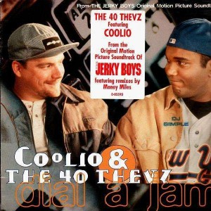 Coolio & The 40 Thevz - Dial a jam / Four fly guys - 12''