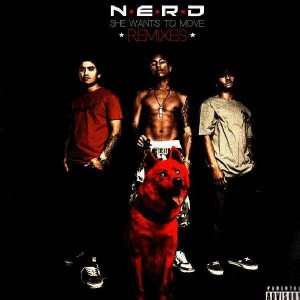N.E.R.D. - She wants to move + remixes - 12''