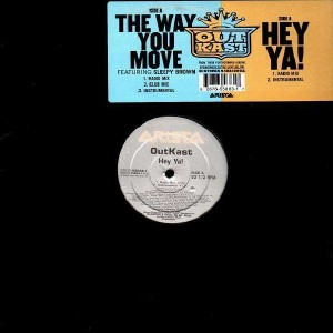 Outkast - the way you move / Hey ya ! - 12''