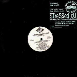 A Tribe Called Quest - Stressed Out remix / Word play / The jam - promo 12''