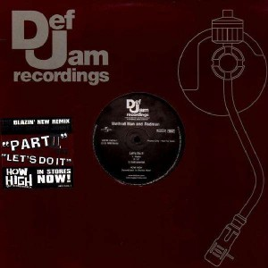 Method Man & Redman - Part II / let's do it - promo 12''