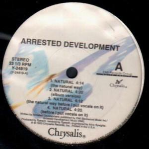 Arrested Development - Natural / Fishin' 4 religion - 12''