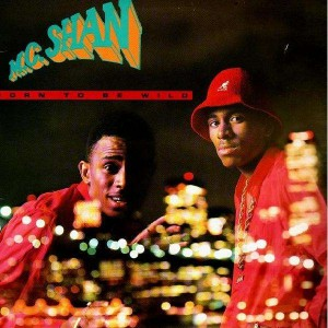 MC Shan - Born to be wild - LP