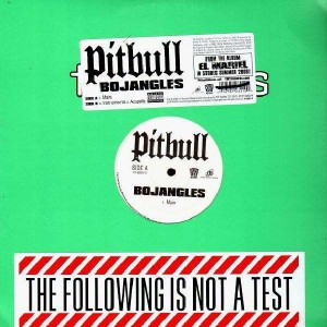 Pitbull - Bojangles - 12''