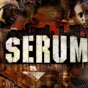 Serum - Album sampler ''On vit comme on peut'' - Vinyl EP