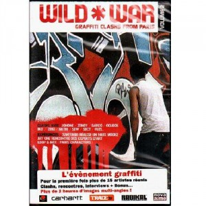 Wild War - Graffiti Clashs from Paris volume 2 - DVD