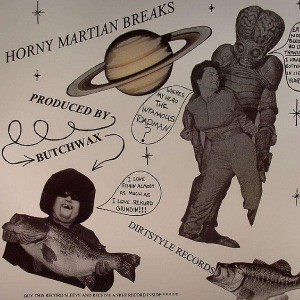 DJ Flare - Horny Martian Breaks - LP