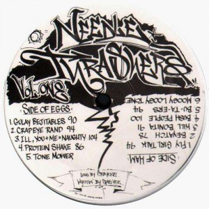 Q-Bert - Needle Thrashers volume 1 - LP