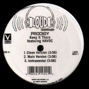 Prodigy - Keep it thoro - 12''