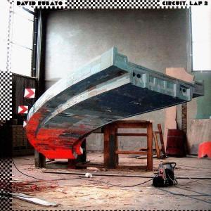 David Rubato - Circuit Lap 2 (remixes by Dj Mehdi, Aeroplane, Siriusmo & Steve Moore) - 12''