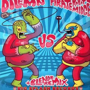 Dilemn vs Pirate Robot Midget - Audio Fight EP 02 - 12''