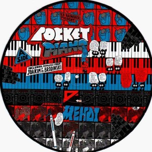 Dj Mehdi - Pocket piano - Picture Disk - 12''