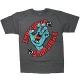 Ambiguous T-shirt - Handbleed - Charcoal