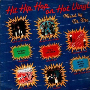Hit Hip Hop on Hot Vinyl - Mixed by Dr.Dre - LP