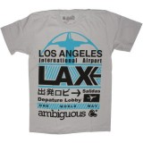 Ambiguous T-shirt - LAX - Silver