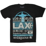Ambiguous T-shirt - LAX - Black