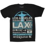 Ambiguous T-shirt - LAX - Black